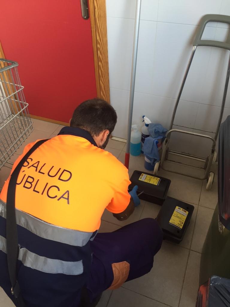 Desratización en Murcia y Almería, Campos Serrano Biólogos